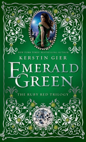 Emerald Green, Edelstein Trilogy, Green, Romance, Time Travel, Young Adult, Kerstin Gier, Fantasy
