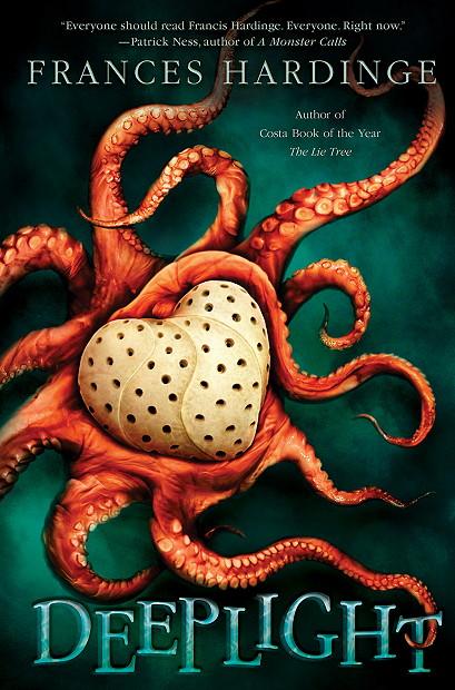 Cult, Deeplight, Frances Hardinge, Octopus, Young Adult, Fantasy, Twenty Thousand Leagues Under The Sea, Frankenstein, Heart,