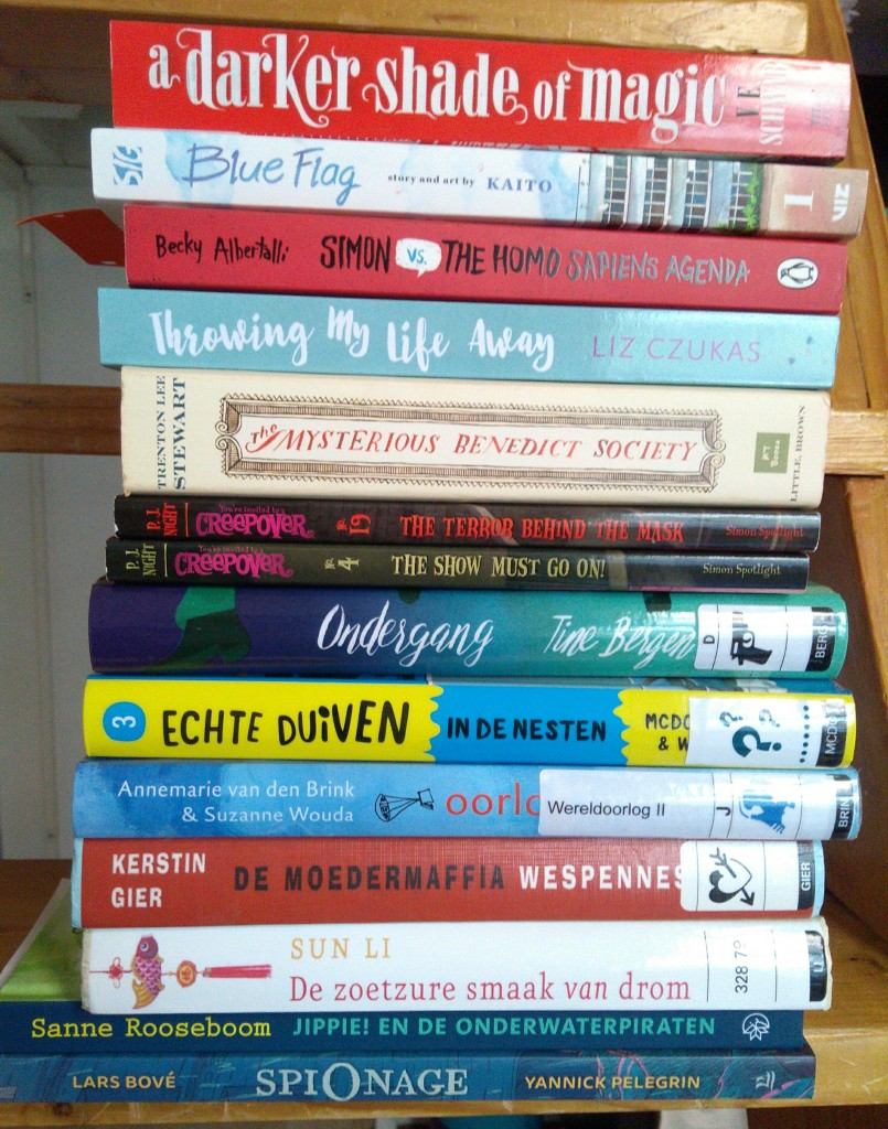 TBR, To Be Read, Books, Reading, Stack, Library, Owned, Children's Books, Re-reads, Simon Vs, Non-fiction