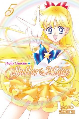 Sailor Venus, Yellow, Naoko Takeuchi, Pretty Guardian Sailor Moon, Vol. 5, Magical Girl, Sailor Moon, Fantasy, Villains, Battles, Mystery, Secrets, Transformations, Cute, Fun, Blonde Hair, Sailor Outfit, Manga, Romance, Cover Love, Friendship, Cats, Minako, Sailor Mars