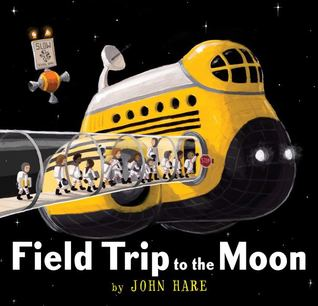 Field Trip to the Moon, School Bus, Moon, Field Trip, Children, Humour, Aliens, Picture Books, Wordless, Children's Books, Sci-fi, Science Fiction, John L. Hare