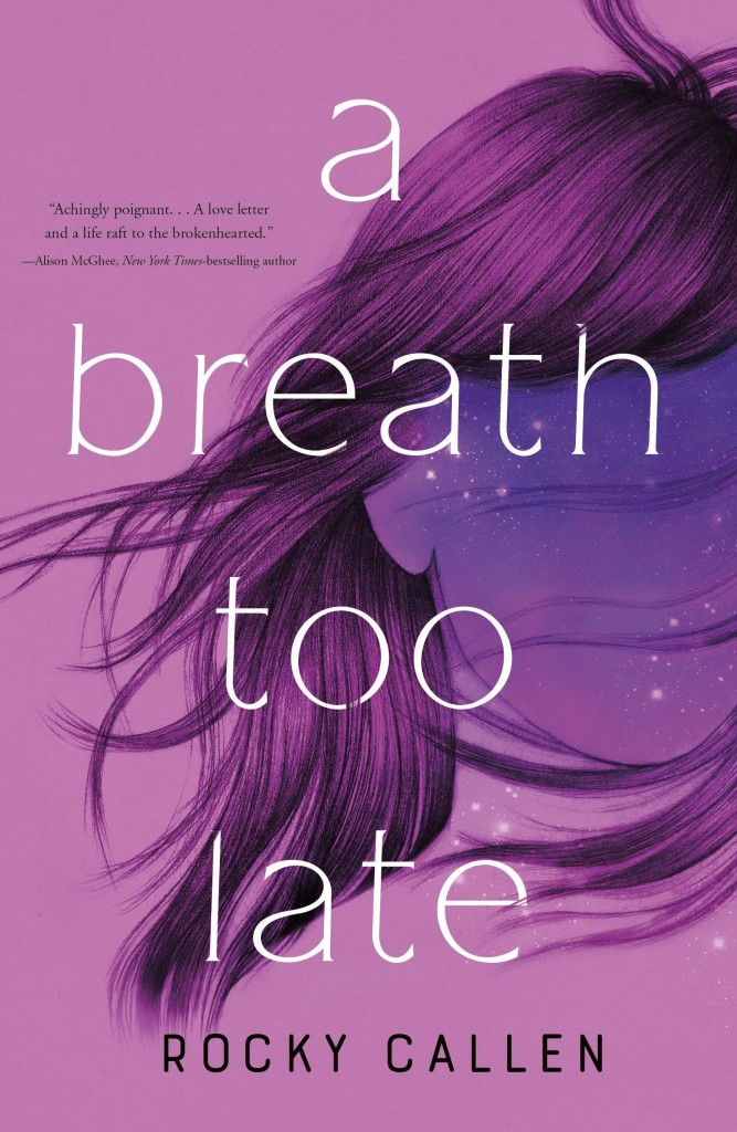 A Breath Too Late, Purple, Pink, Hair, Face, Suicide, Death, Memory, Contemporary, Cover Love, Young Adult, Mental Health