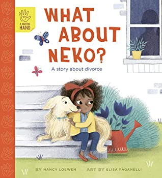 What About Neko?, Nancy Loewen, Elisa Paganelli, Dog, Stairs, Watercan, Girl, Shadow, Window, Divorce, Family, Brother, Pets, Picture Book, Children's Book