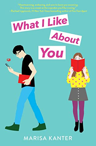 What I Like About You, Marisa Kanter, Green/Blue, Romance, Young Adult, Contemporary,