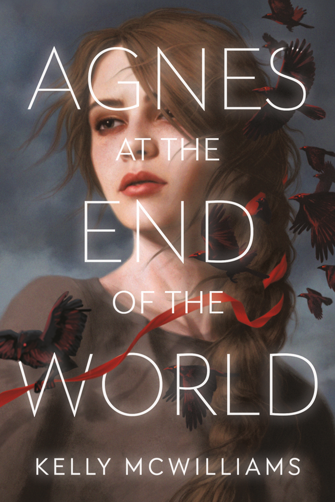 Pandemic, Kelly McWilliams, Agnes at the End of the World, Dystopia, Cult, Girl, Crows, Cover Love, Young Adult, Romance,