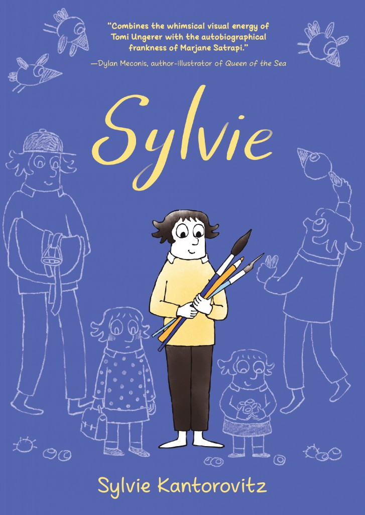 Sylvie, Sylvie Kantorovitz, Blue, Sketches, Autobiography, Non-fiction, Blue, Art, Artist, Memoir, Siblings, Family, France