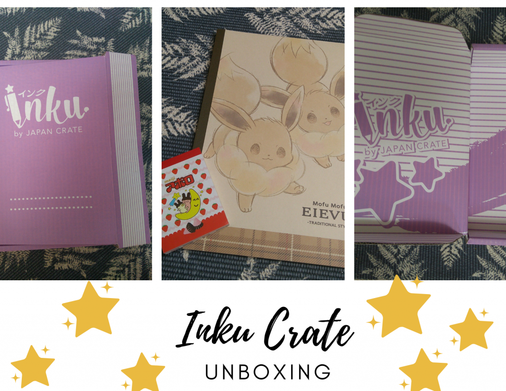 Inku Crate, Unboxing, Post, Stationery,