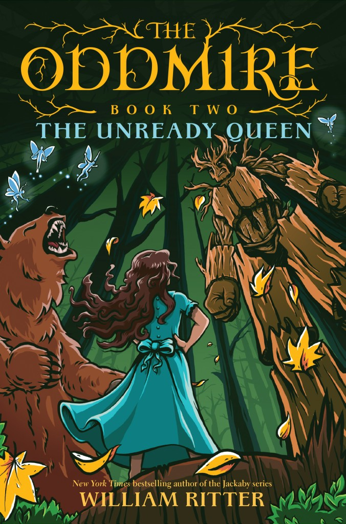 The Oddmire, Unready Queen, Children's Book, Adventure, Fantasy, Girl, Bear, Scarecrow, Magic, Forest, Woods, Goblins