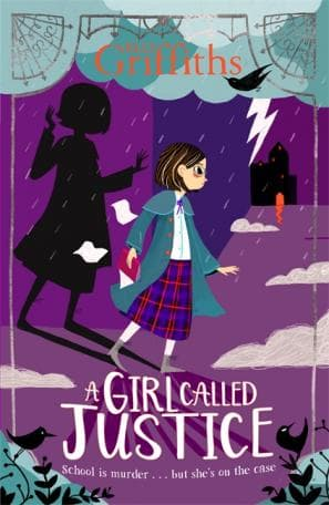 A Girl Called Justice, Justice Jones, Elly Griffiths, Boarding School, Children's Books, Mystery, Historical Fiction, Murder, Girl, Clouds, Maids, Snow Storm