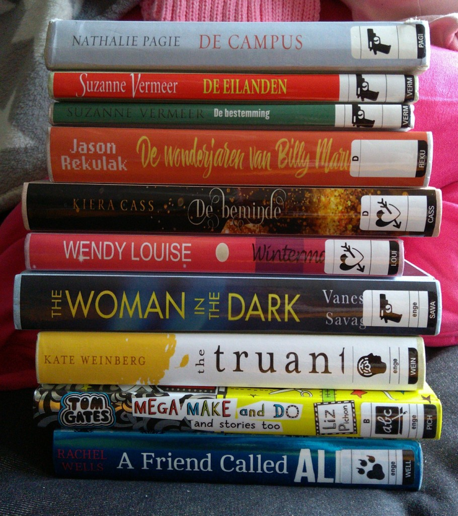 Stack of Books, Zoetermeer, Bibliotheek Zoetermeer, Library #2, English, Young Adult, Thrillers