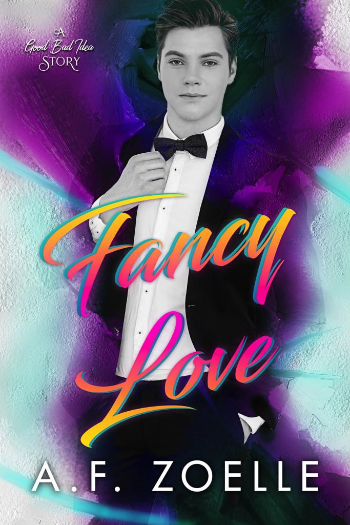 Love Fancy, A.F. Zoelle, LGBT, Purple, Suit, Man, Romance, LGBT, Sex, Dual POV