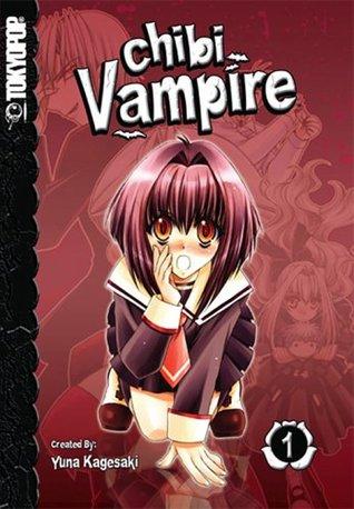 Yuna Kagesaki, Manga, Chibi Vampire, Vol. 01, Vampires, Red, Girl, Blood, Humour, Vampires, Fantasy, Blood Preferences,