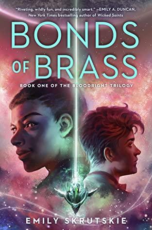 Bonds of Brass, Young Adult, LGBT, Science Fiction, Scifi, Light, Purple, Boys, Planets, Stars, Emily Skrutskie, The Bloodright Trilogy
