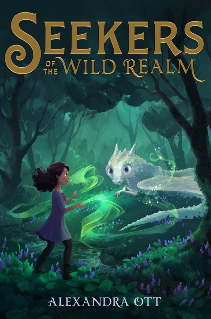 Seekers of the Wild Realm, Wild Realm 1, Children's Books, Fantasy, Dragon, Green, FOrest, Magic, Friendship, Secrets, Alexandra Ott
