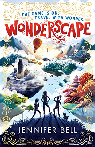 Wonderscape, Children's Book, Jennifer Bell, Hill, Island, Isaac Newton, Science-Fiction, Sci-fi, Magic, Adventure, Three Shadows