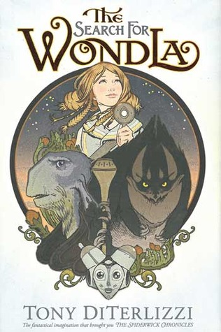 The Search for Wondla, Tony Diterlizzi, Fantasy, Sci-fi, Science Fiction, Children's Books, Secrets, Adventure, Friendship, Girl, Robot, Stars