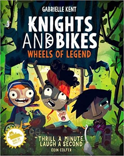 Wheels of Legend, Fairy Tales, Magic, Adventure, Children's Books, Illustrations, Giants, Fun, Green, Boy, Girls, Fun Fair, Knights and Bikes #3, Gabrielle Kent, Rex Crowle, Luke Newell