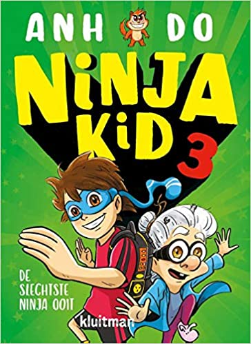 Anh Do, Green, Woman, Boy, Ninja Kid, Book 3, De slechtste ninja ooit, sportscompetition, villain,