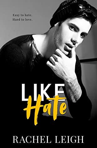Like Hate, Rachel Leigh, Bullying, Dual POV, College, Romance, Guy, Hat, Black/White,