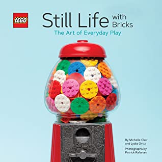 LEGO Still Life with Bricks: The Art of Everyday Play, Lydia Ortiz, Michelle Clair, Lego, Gumball Machine, Photography, Blue, Art