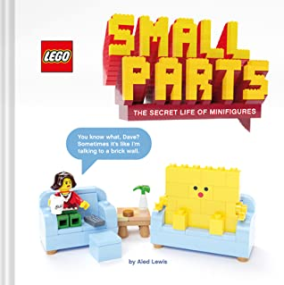 LEGO Small Parts: The Secret Life of Minifigures, Aled Lewis, Art, Photography, Humour, Lego, Minifigures, Life, Non-fiction, Couches, Lego figures, Table,