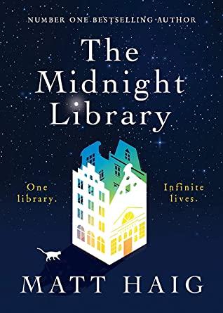 The Midnight Library, Matt Haig, House, Rainbow, Dark Blue, Library, Sci-fi, Fantasy, Books, Alternative Realities, Multiple Realities, Choices