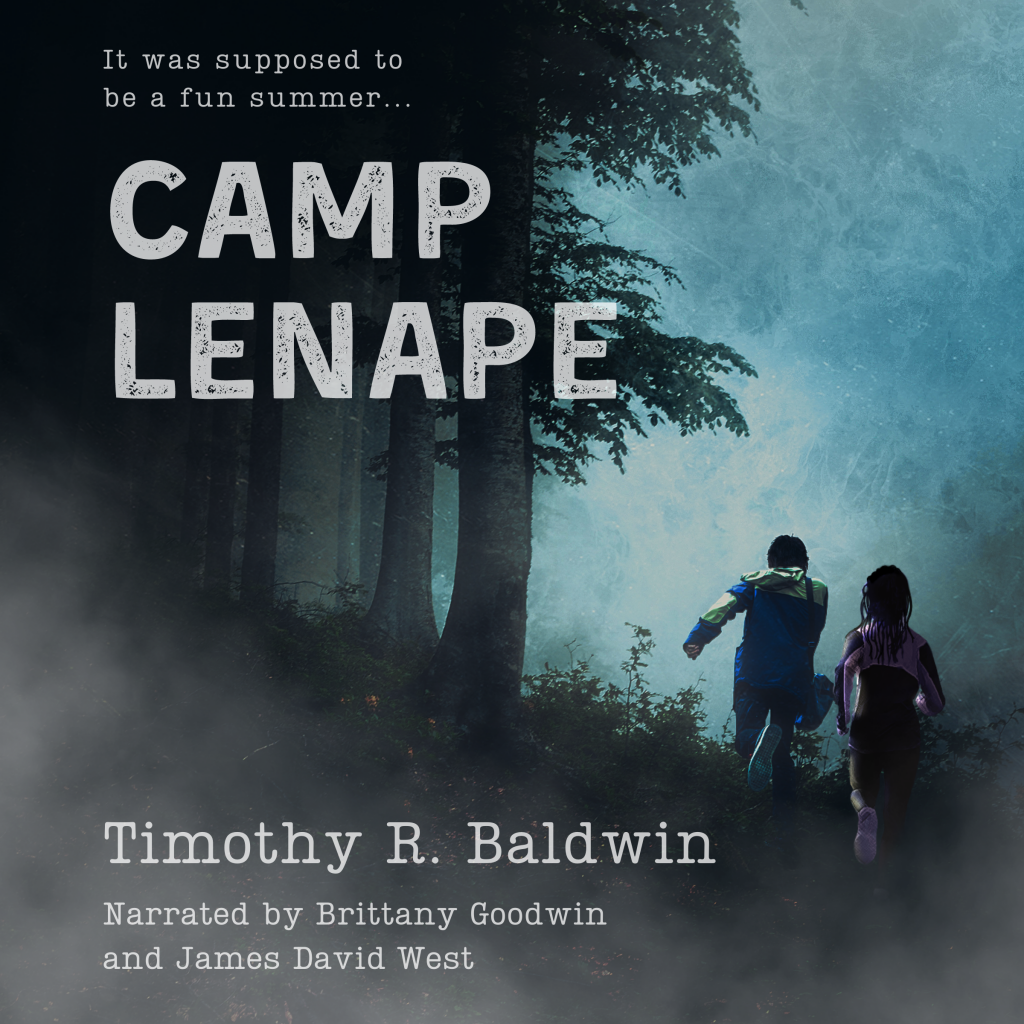 Camp Lenape, Timothy R. Baldwin, Forest, Silhouettes, Camp, Summer, Horror, Audiobook, Missing, Mystery, Searching