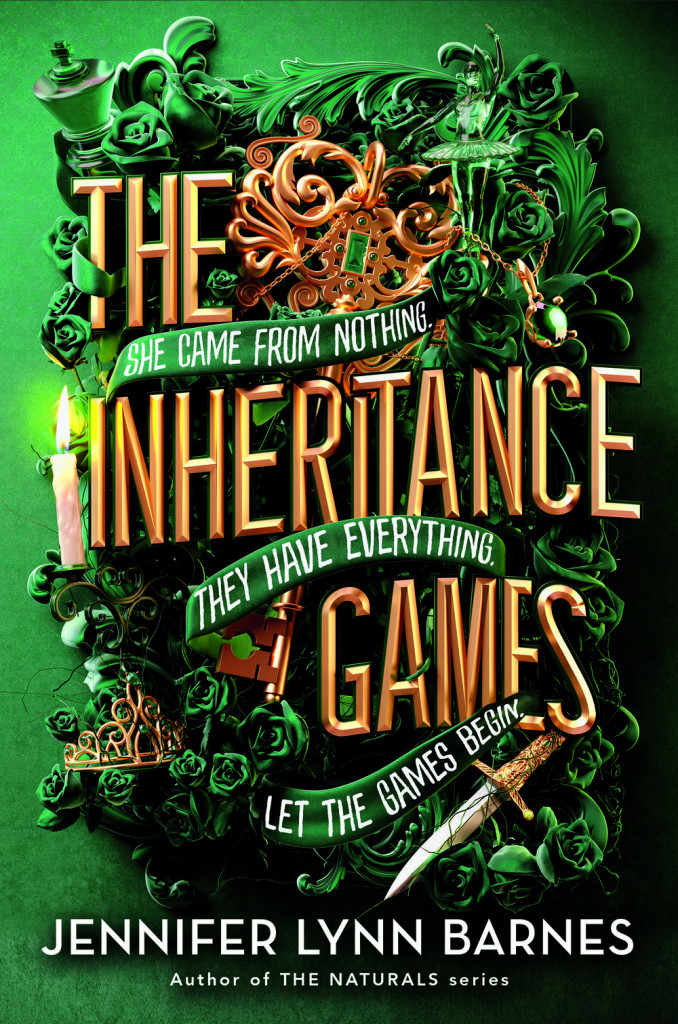 The Inheritance Games, Jennifer Lynn Barnes, Inheritance, Secrets, Codes, Young Adult, Green, Sword, Puzzles, Riddles