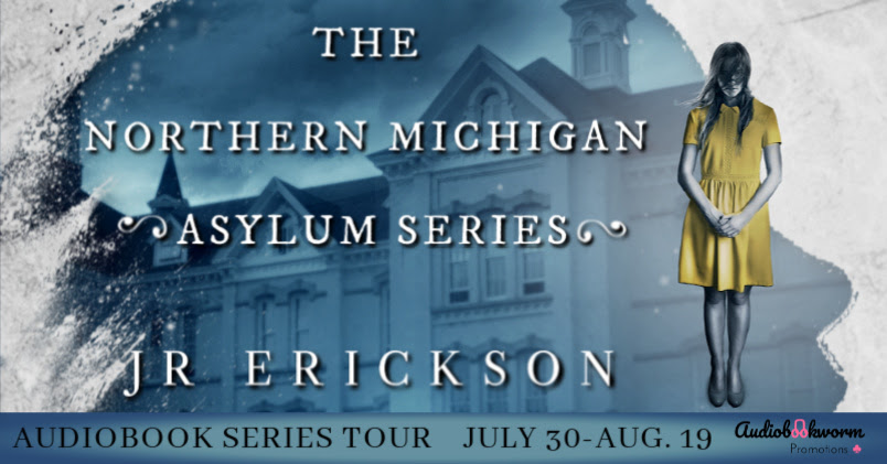 Northern Michigan Asylum, Ghosts, Horror, J.R. Erickson, Horror, Spooky, Banner