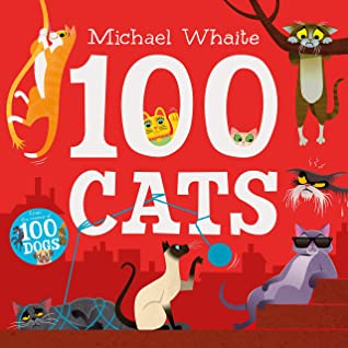 Rhyme, Poetry, Michael Whaite, Humour, Funny, Cats, Animals, Lions, Red, 100 Cats, Picture Book, Children's Books, Cute