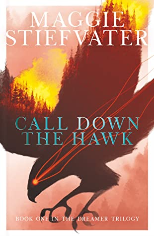 Call Down the Hawk, Maggie Stiefvater, Dreamer Trilogy, Book 1, LGBT, Paranormal, Fantasy, Young Adult, Multiple POV, Hawk, Mountains, Clouds, Forests, Trees, Red Eye, Dreams, Dreaming, Maggie Stiefvater