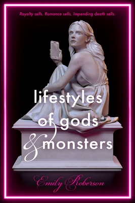 Lifestyles of Gods and Monsters, Statue, Phone, Cellphone, Girl, Pedestal, Young Adult, Famous, Fame, Mythology, Young Adult, Emily Roberson