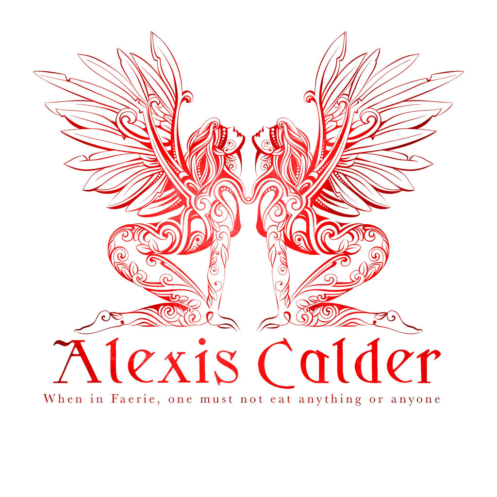 Alexis Calder, Faerie, Woman, Wings, Logo, Tattoos, Red