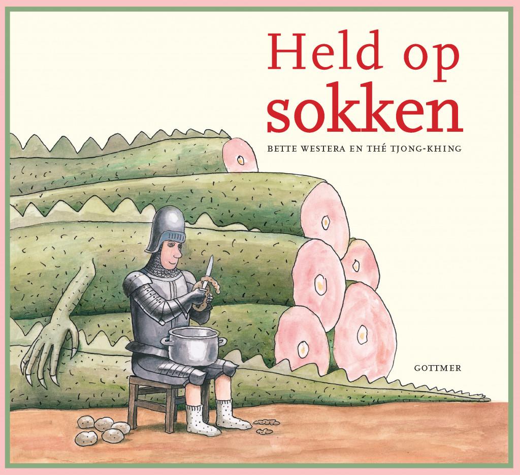 Held op Sokken, Bette Westera, Thé Tjong-Khing, Dragon, Potatoes, Peeling, Knights, Ridders, Picture Book, Beards, Princess, Prince, Fantasy, Children's Books