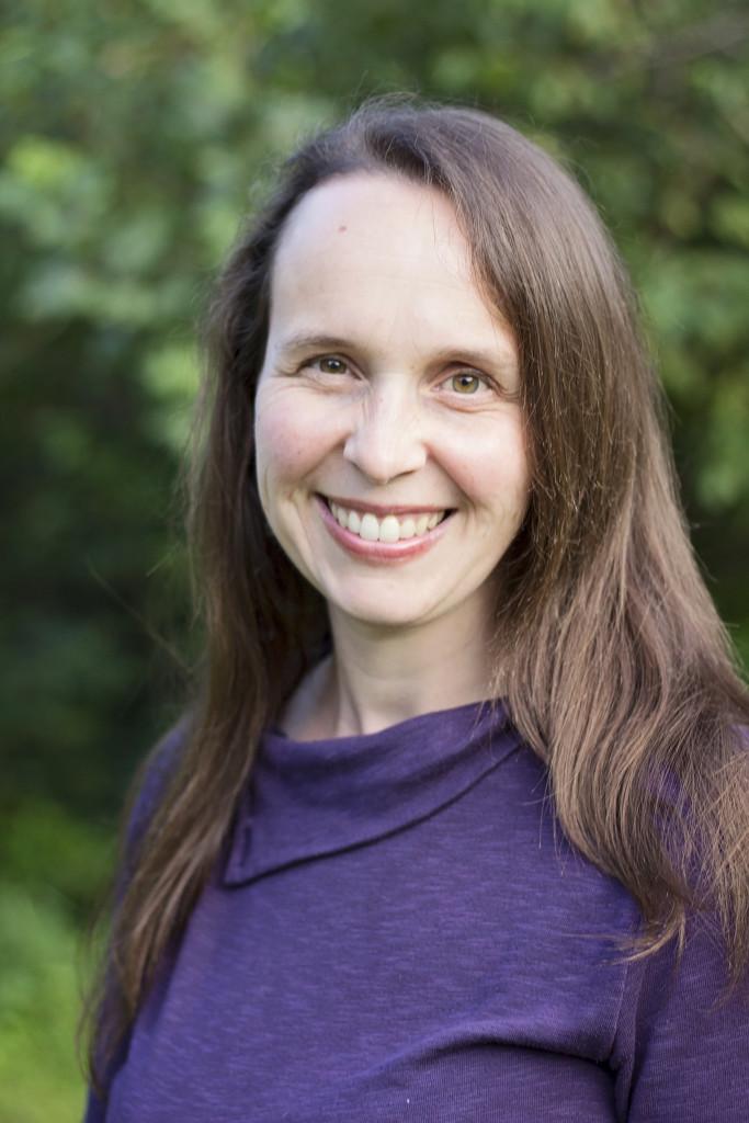 Sarah R. Baughman, Author, Photograph, Purple Shirt