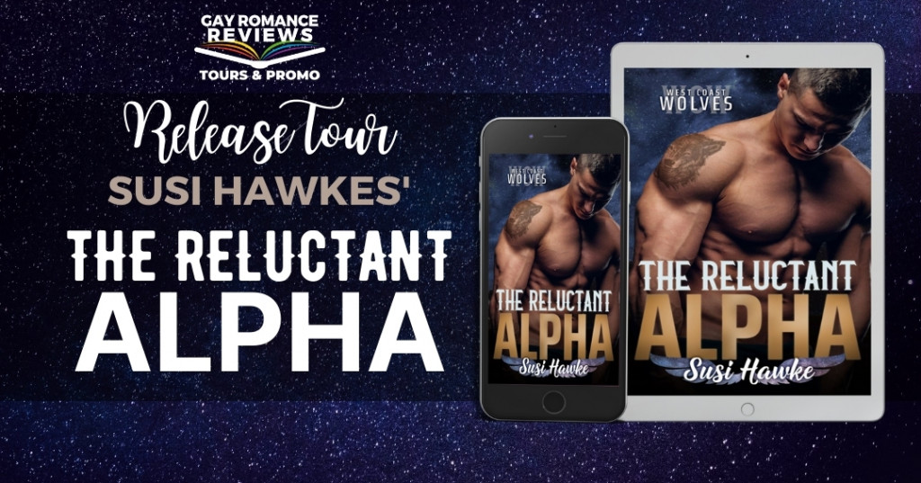 The Reluctant Alpha, Blue, Half-naked, Pregnancy, Romance, LGBT, Shifters, Wolves, Susi Hawke, West Coast Wolves