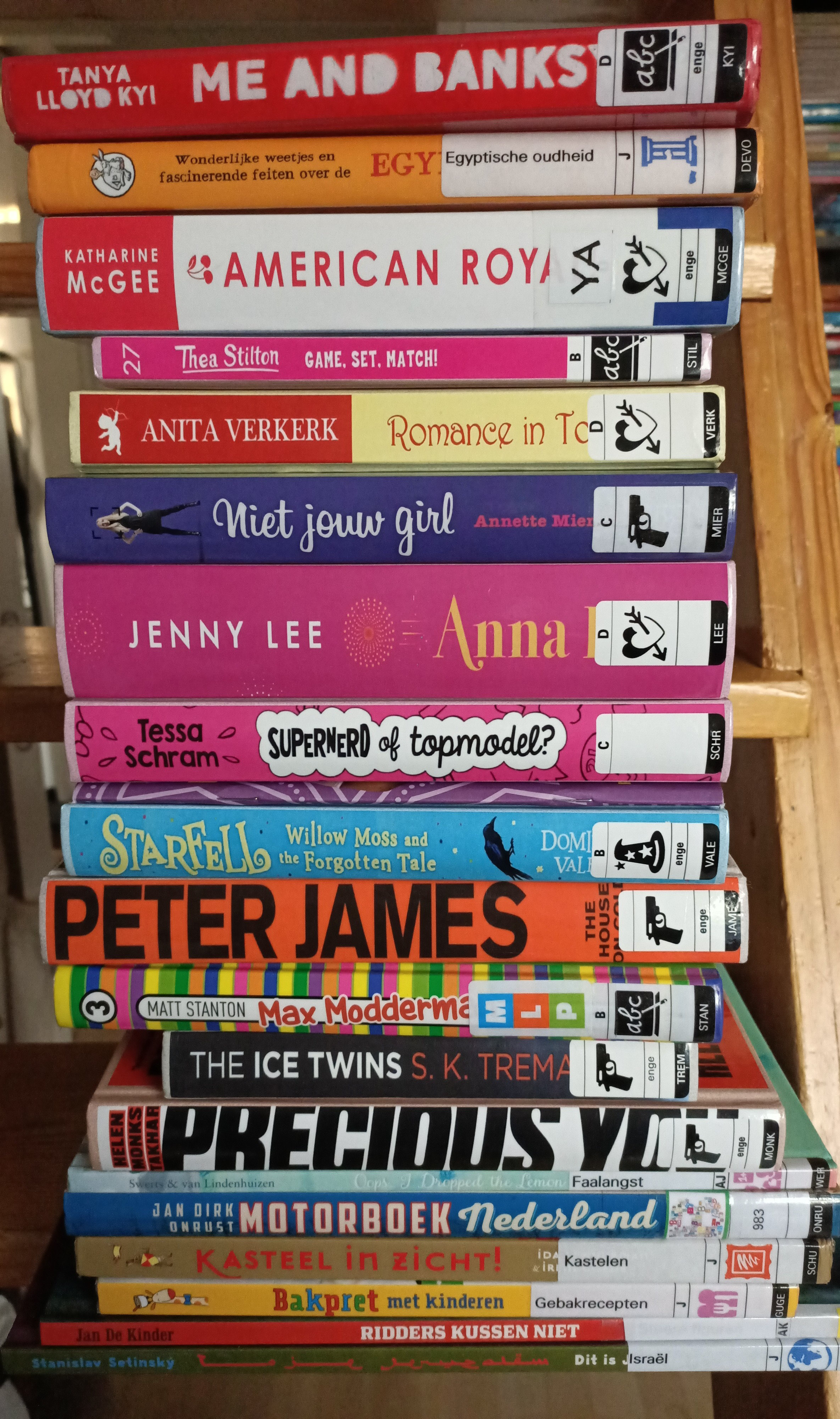 TBR, Stack of Books, Reading, Colourful, Children's Books, Non-fiction, Fiction