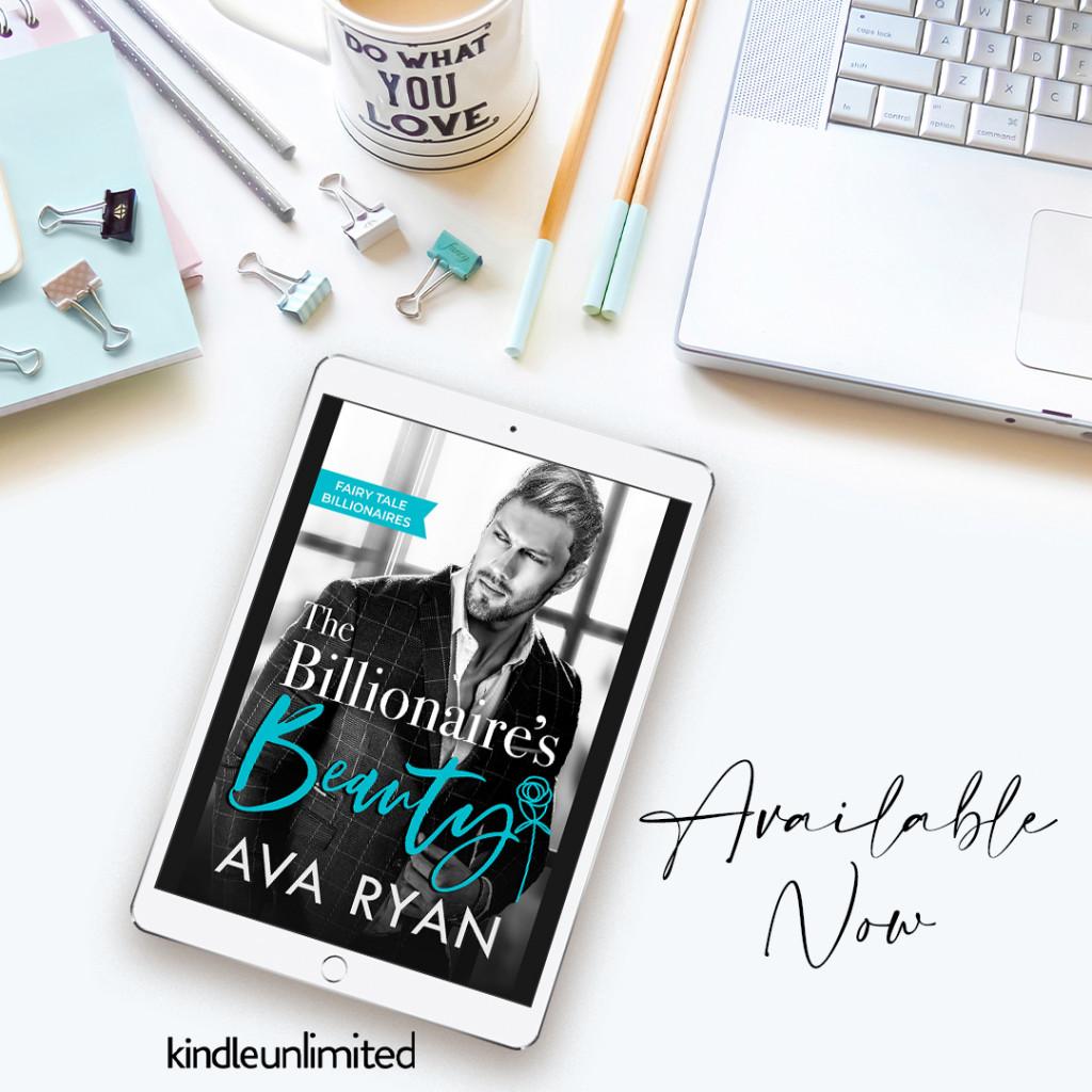 Fairy Tale Billionaires, Ava Ryan, Laptop, Mug, Pencils, Clips, Romance, Kindle, Family