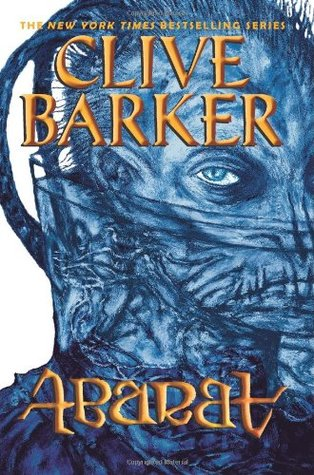 Abarat, Clive Barker, Fantasy, Young Adult, Adventure, Spooky, Secrets, Mystery, Scary, Clive Barker, Blue, Face, Stitches