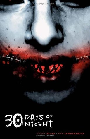 30 Days Of Night VOL1, Stitches, Face, Blood, Teeth, Fangs, Sharp, Blood, Vampires, Alaska, Horror, Graphic Novel, Survival, Steve Niles, Ben Templesmith