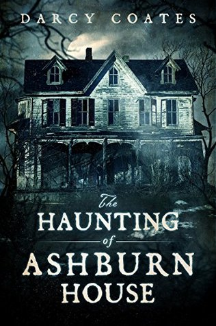 The Haunting of Ashburn House, Blue, HOuse, Moon, Trees, Spooky, Horror, Halloween, Haunted House, Horror, Spooky, Ghosts, Darcy Coates