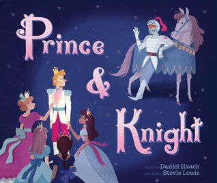 Blue, Purple, Knight, Horse, Princess, Crown, Fantasy, Dragon, Picture Book, LGBT, Romance, Cute, Daniel Haack, Stevie Lewis