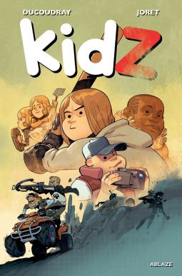 Grass, KidZ Vol.1, Children, Buggy, camera, Hat, Baseball bat, Zombies, Horror, Graphic Novel, Aurélien Ducoudray, Jocelyn Joret