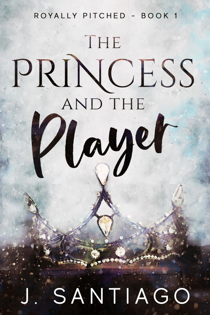 The Princess and the Player, J. Santiago, Sports, Romance, Crown, Throne, Sparkles, Water Drops, Kisses