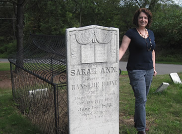 Dianne K. Salerni, Grave, Sarah Ann Boone, Pennsylvania, Author, Photograph