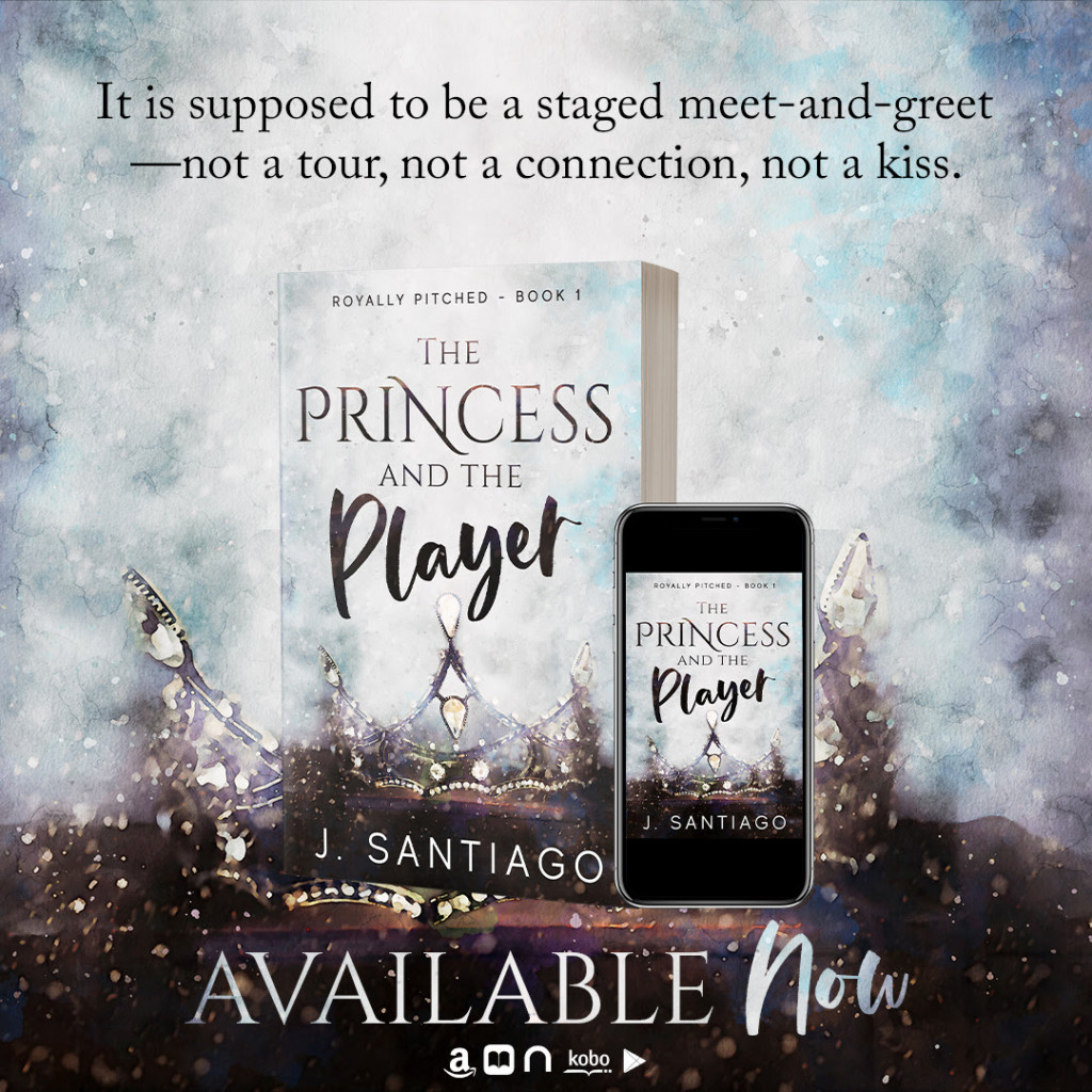 The Princess and the Player, J. Santiago, Sports, Romance, Throne, Sparkles, Water Drops, Kisses