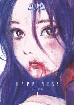 Shuuzou Oshimi, Purple Hair, Blood, Girl, Vampire, Manga, Happiness, Vol.1