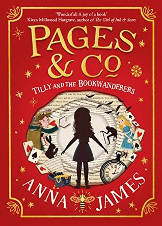 Tilly and the Bookwanderers, Anna James, Red, Silhouette, Fantasy, Books about Books, Magic,