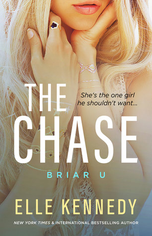 The Chase, Briar U, Book 1, Elle Kennedy, Dual POV, University, Sports, Fashion, Hockey, New Adult, Girl, Blonde Hair, Hands