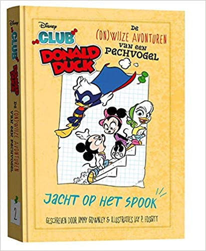 Club Donald Duck 2 - Jacht op het spook, Yellow, Superheroes, Mickey Mouse, Minnie Mouse, Donald Duck, Katrien Duck, Comics, Humour, Funny, Children's Books, Vlogging, Fourth Wall